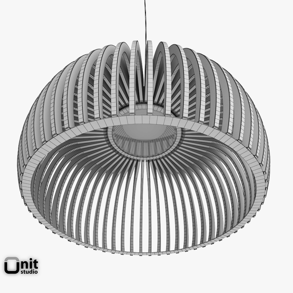 Atto 5000 Pendant Light By Secto Design 3D Model MAX OBJ 3DS FBX DWG CGTrad