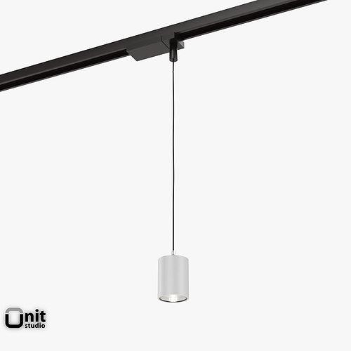 3D Zumtobel Vivo P L Pendant Spotlight