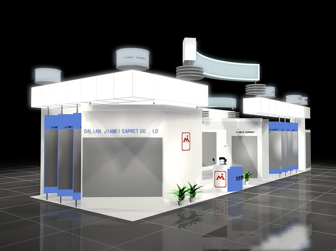 3d Shop Exhibit Booth Cgtrader