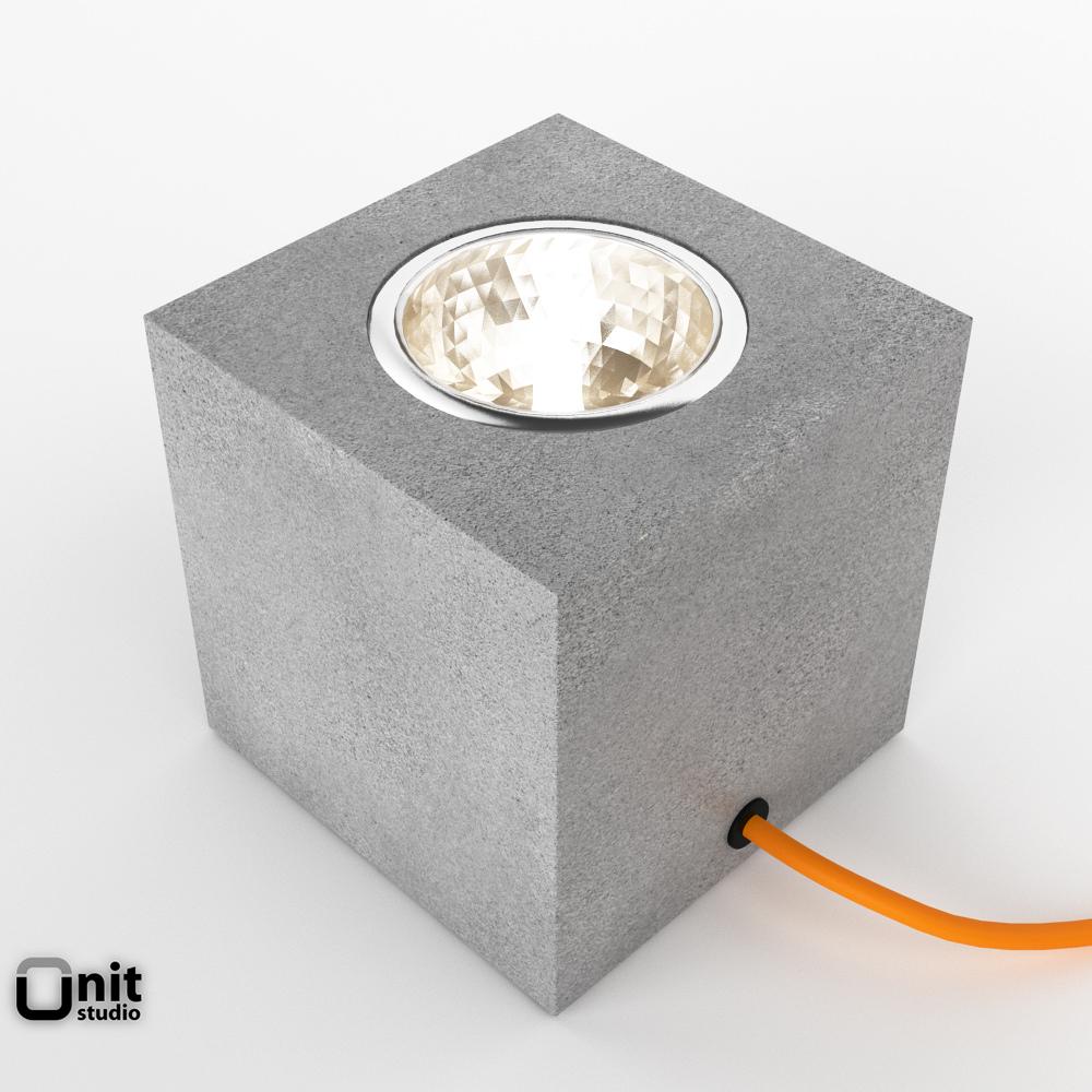 ... q floor lamp by davide groppi 3d model max obj 3ds fbx dwg 2 ...