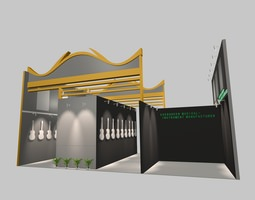 3d exhibition stand 219