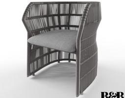 B B Italia Canasta 13 Chair 3D