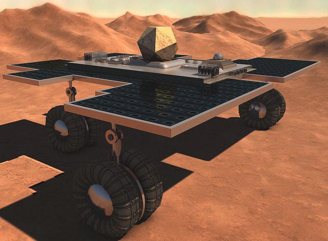 3D mars rover | CGTrader