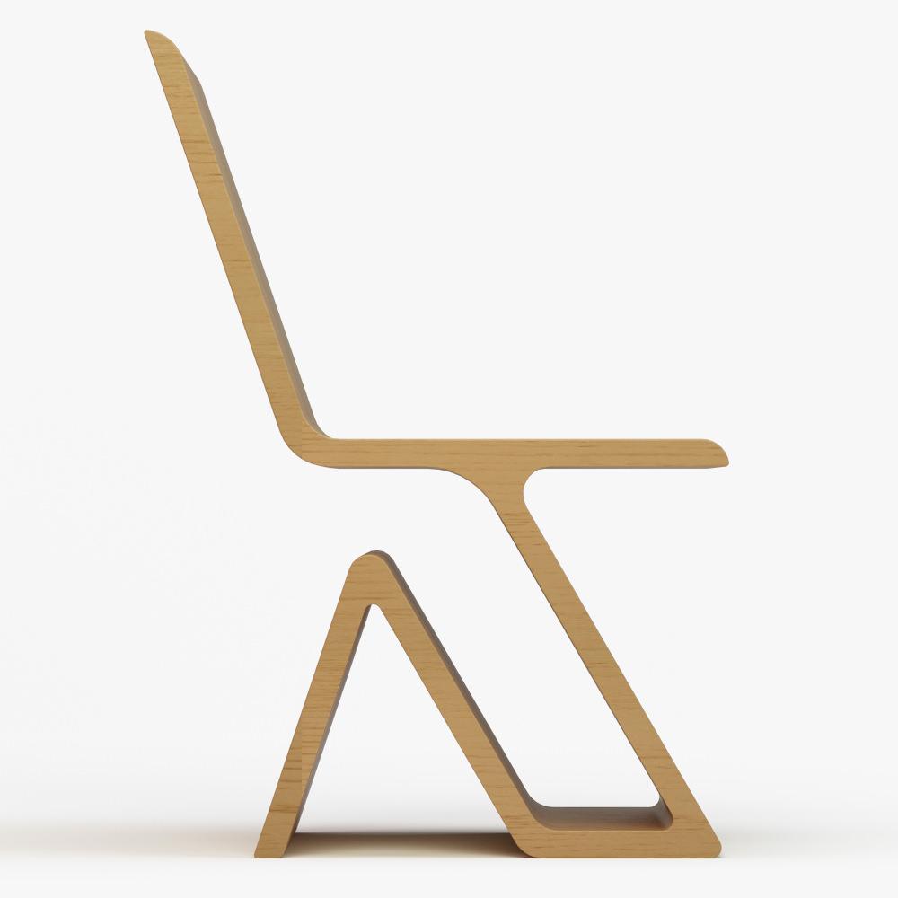 shiven 2 chair varsa 3d model max obj 3ds fbx dwg
