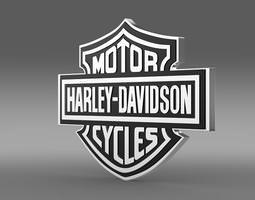 3D model Harley-Davidson Logo