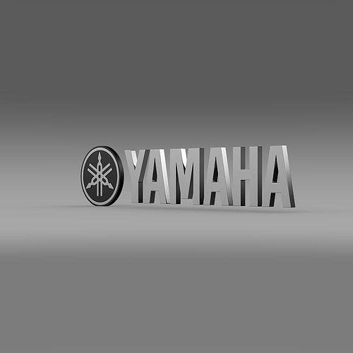 Yamaha logo 3d model cgtrader for Yamaha warranty registration
