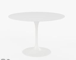 Saarinen Dining Table - 42 Round 3D Model