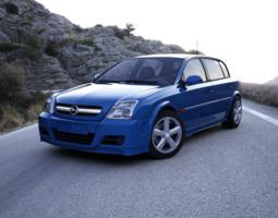 3D model Opel Signum