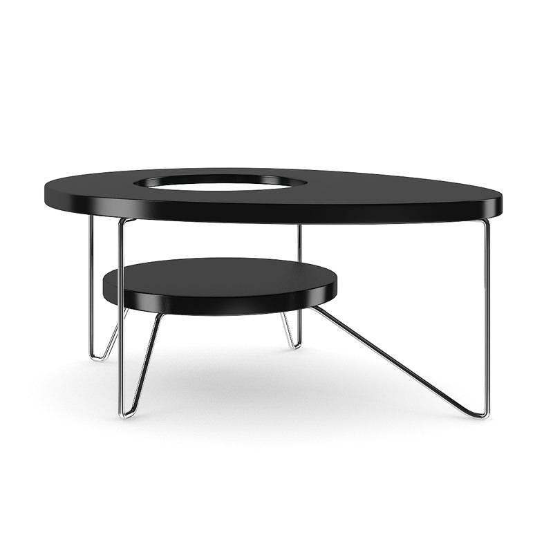 Modern Round Coffee Table 3D model MAX OBJ FBX C4D