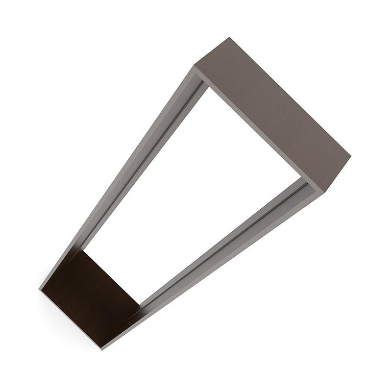 Standing mirror in wooden frame 3d model max obj fbx c4d for Standing mirror frame
