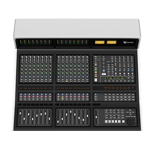 studio mixer 3d model max obj mtl fbx c4d 1