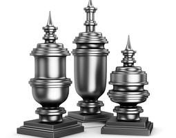 3D model Metal Figures