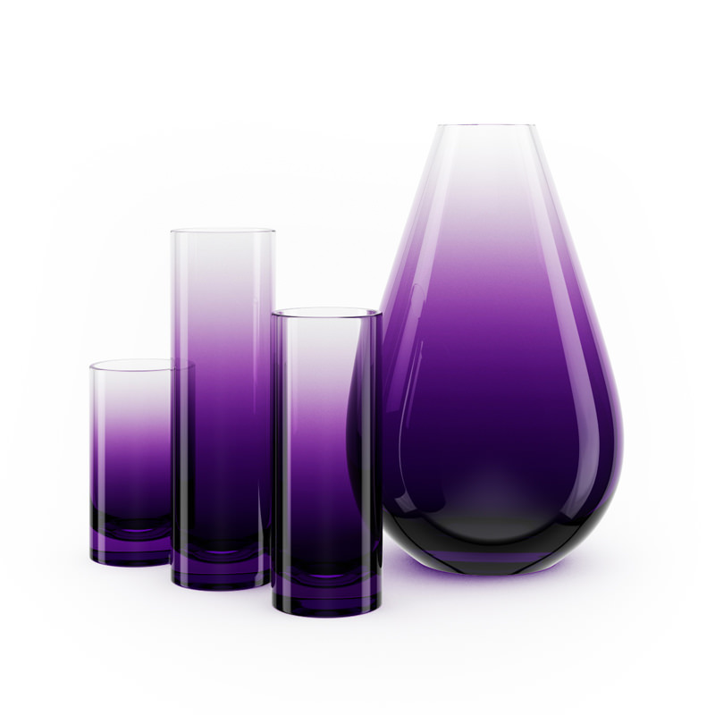 Decorative Glass Vases 3d Cgtrader