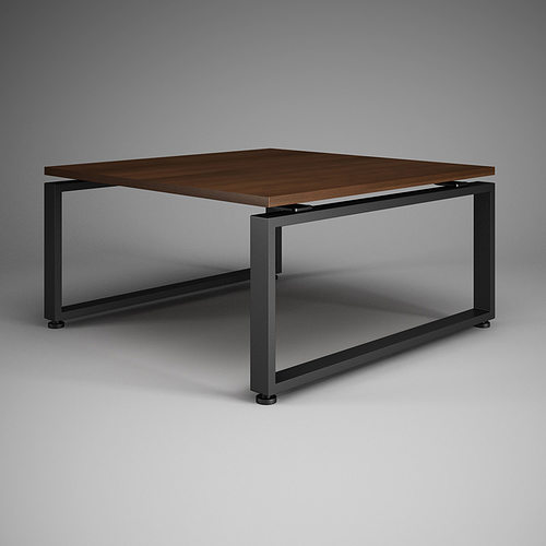 Square Office Table 27 Model