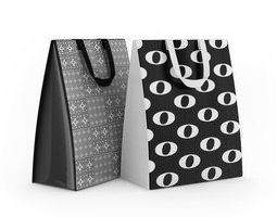 3d shopping bags