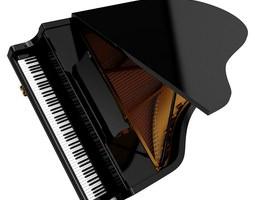Grand Piano instrument 3D