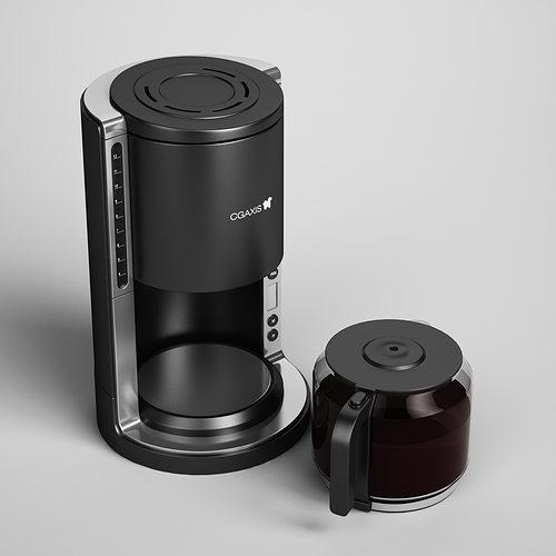 3d Model Coffee Maker 07 Cgtrader