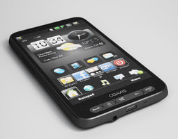 CGAxis HD2 Mobile Phone 16 3D