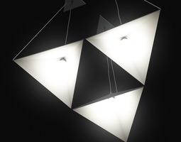 light Ceiling Lamp 3D