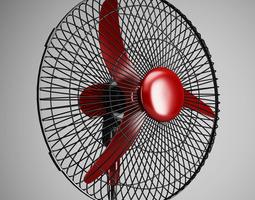 3D Floor Standing Air Fan 02