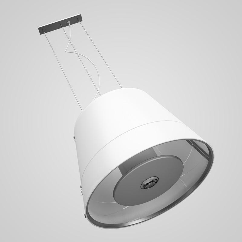 White Hanging Lamp 28