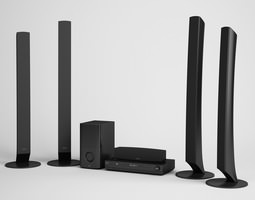 Home Theater 08 3D model