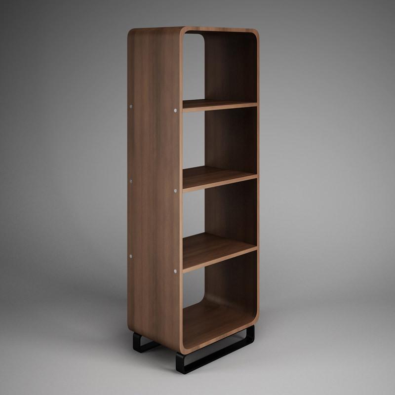 Office Shelf Unit 32 3d Model Max Obj Fbx C4d 1 ...