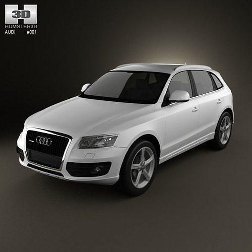 3D Model Audi Q5 2009