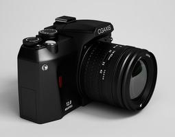 camera 34 3d model max obj fbx c4d