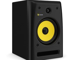 3D model musical Studio Monitor