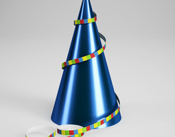 3D Birthday Hat 02