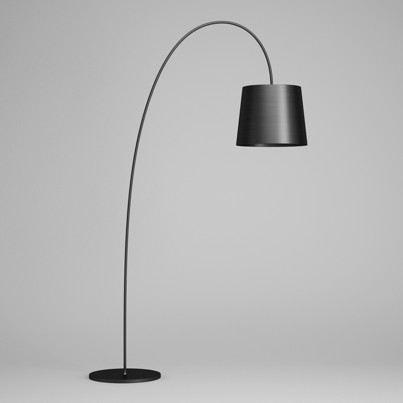 3d black floor lamp 43 cgtrader black floor lamp 43 3d model max obj fbx c4d 3 aloadofball Gallery