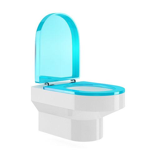 Toilet bowl 3d model max obj fbx c4d - Toilet model ...