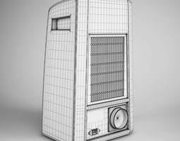Standing Air Conditioner 05 3D model