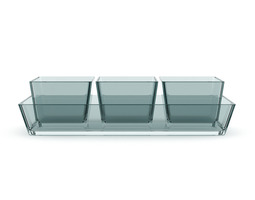 3d glass baking dishes