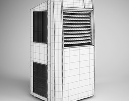 Standing Air Conditioner 07 3D model