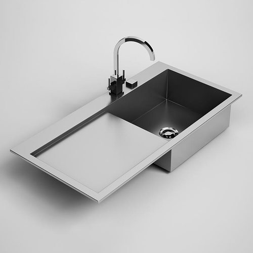 Kitchen Sink 24 3D model | CGTrader