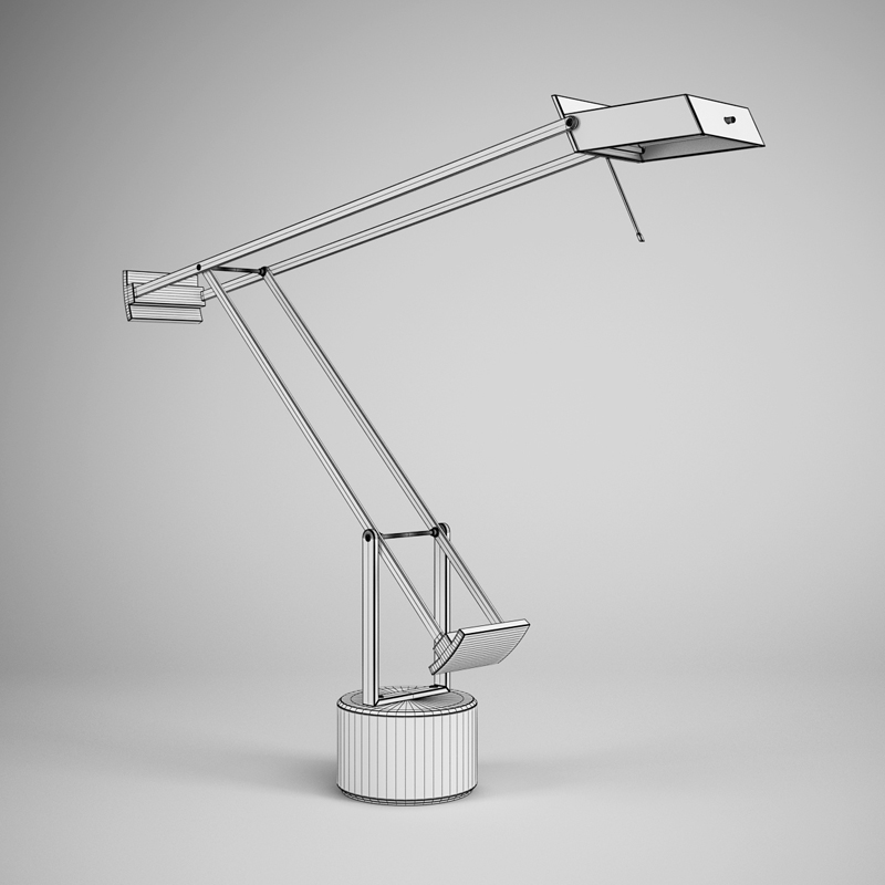 Office Desk Lamp 24 3d Model Max Obj Fbx C4d 1 ...