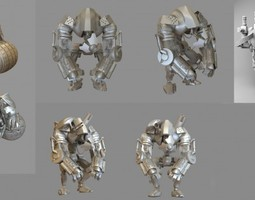 Robot Collection 3D