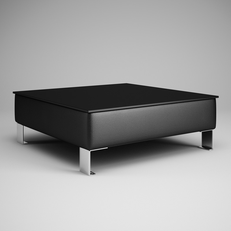 Black Living Room Table 28 3D CGTrader