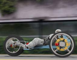 3D model Electron Racer for Poser