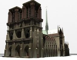 NotreDame 3D model