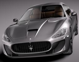 Maserati GranTurismo MC Stradale 2014 3D Model