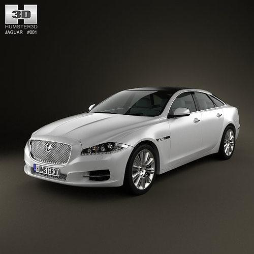 2010 Jaguar Xf Interior: Jaguar XJ X351 2010 3D Model