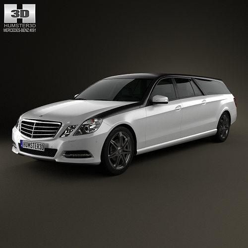 Mercedes benz e class binz xtend 2012 3d model cgtrader for Mercedes benz 2012 models