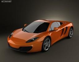 3D McLaren MP4-12C 2011