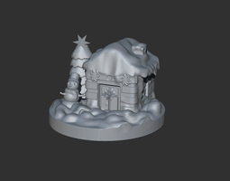 Christmas House 3D printable model