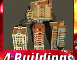 Building Collection 49-52 3D Model