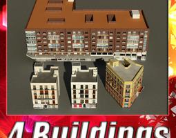 3D asset Building Collection 57-60