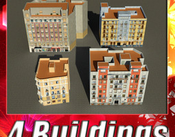 Building Collection 65-68 3D Model